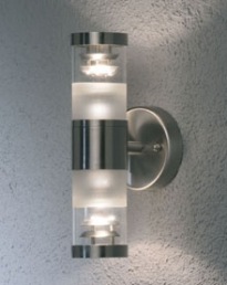 Bolzano Up/Down Light S. Steel 7595-000