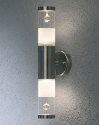 Bolzano Up/Down Light S. Steel 7597-000