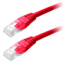 Patch Cable UTP CAT6 7m Red SPECIAL 4016032131489
