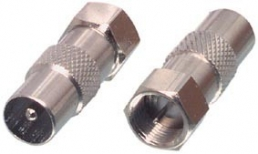 F-connector to coax plug adapter.FC-029